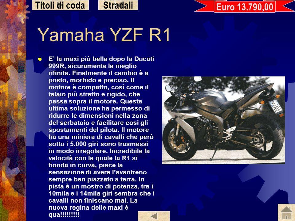 Yamaha YZF R1 Titoli di coda Stradali Euro 13.790,00