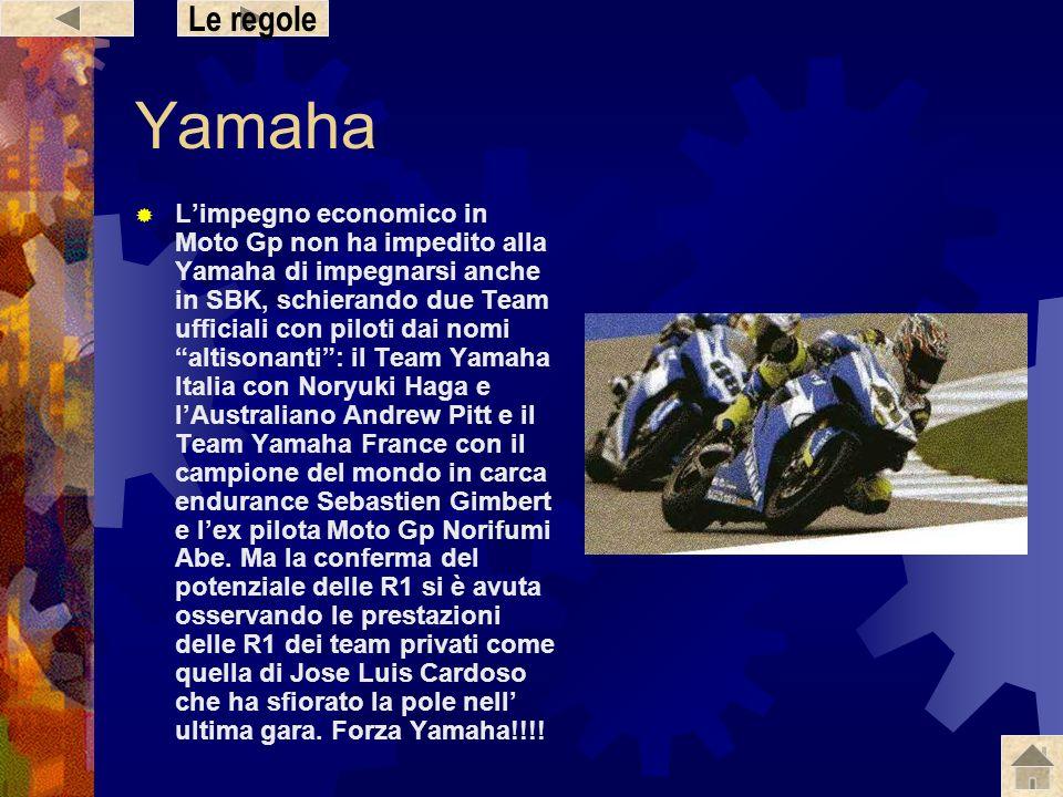 Le regole Yamaha.