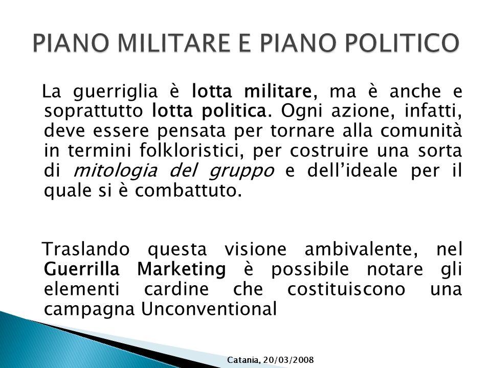 PIANO MILITARE E PIANO POLITICO