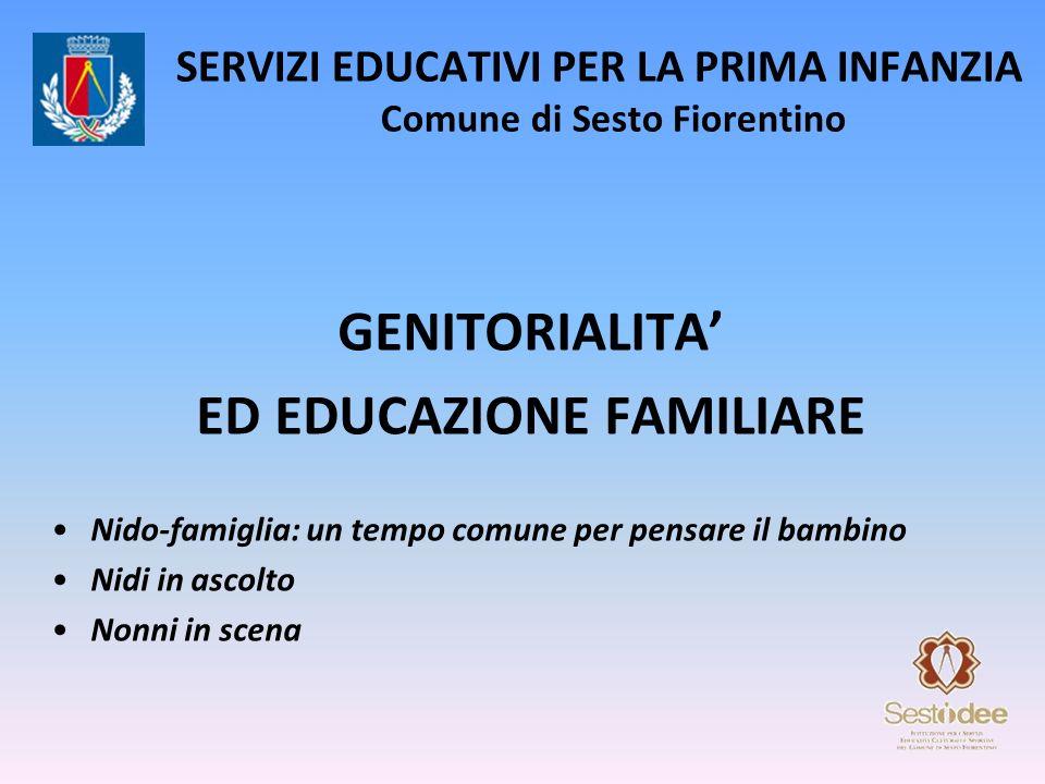 SERVIZI EDUCATIVI PER LA PRIMA INFANZIA Comune di Sesto Fiorentino