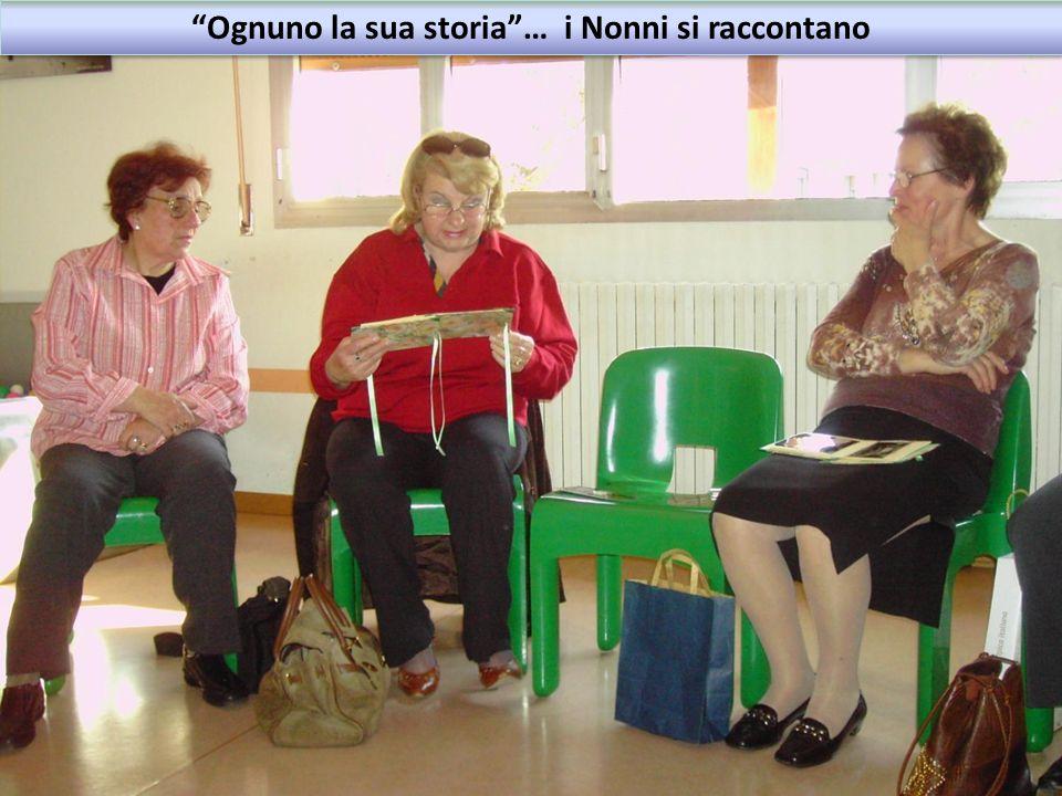 Ognuno la sua storia … i Nonni si raccontano