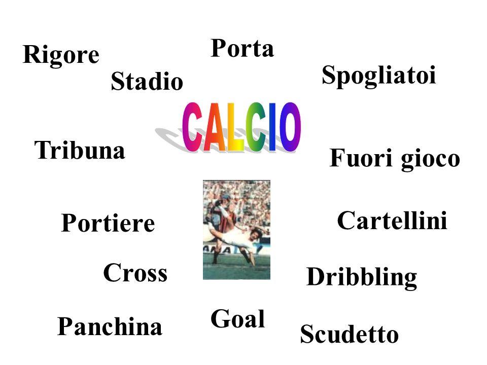 Porta Rigore Spogliatoi Stadio Tribuna Fuori gioco Cartellini Portiere
