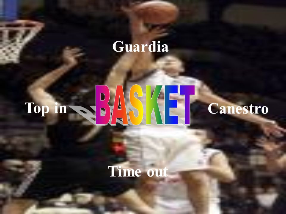 Guardia BASKET Top in Canestro Time out