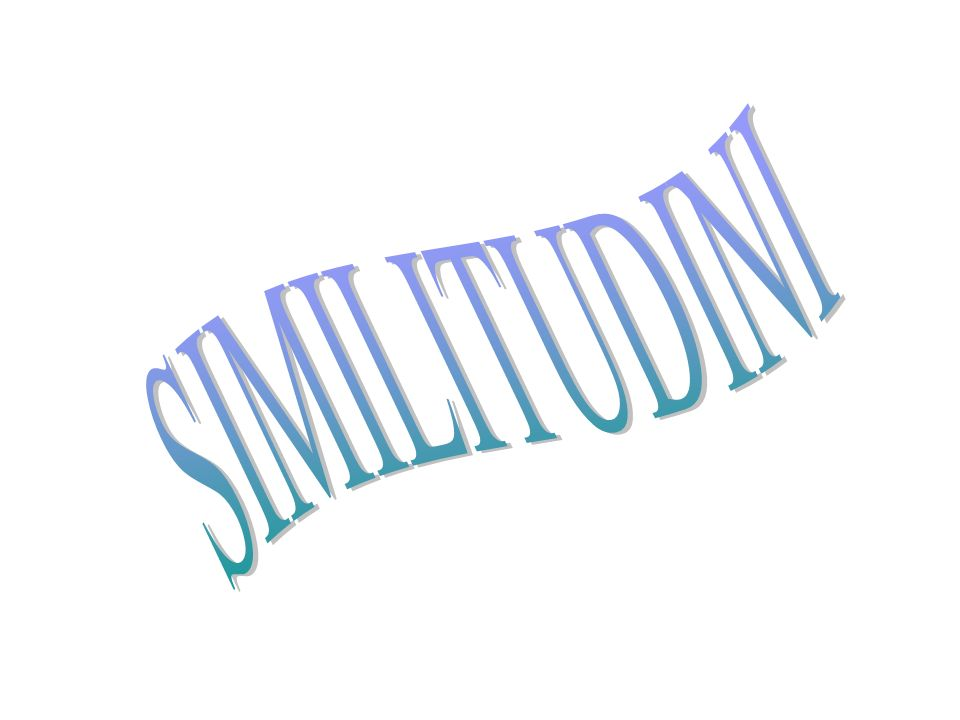 SIMILITUDINI