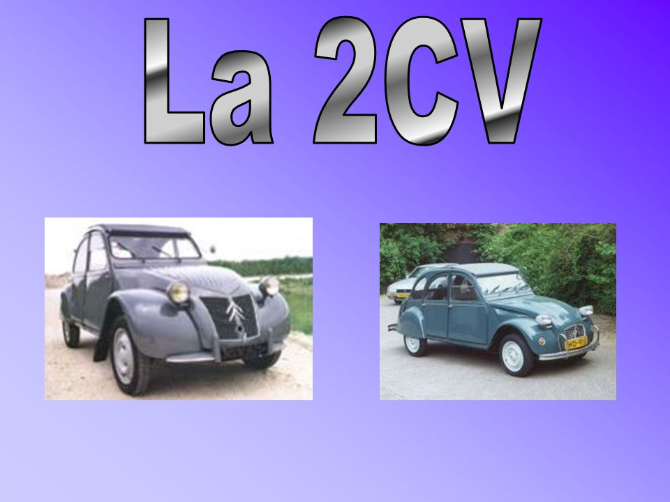 La 2CV