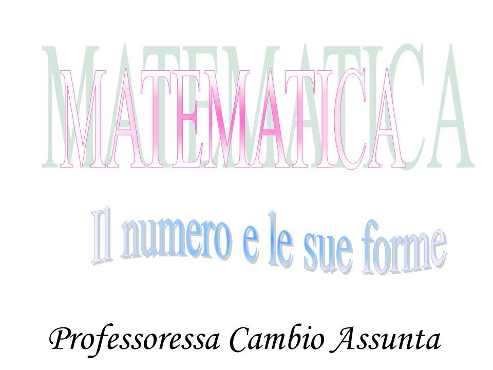 Professoressa Cambio Assunta