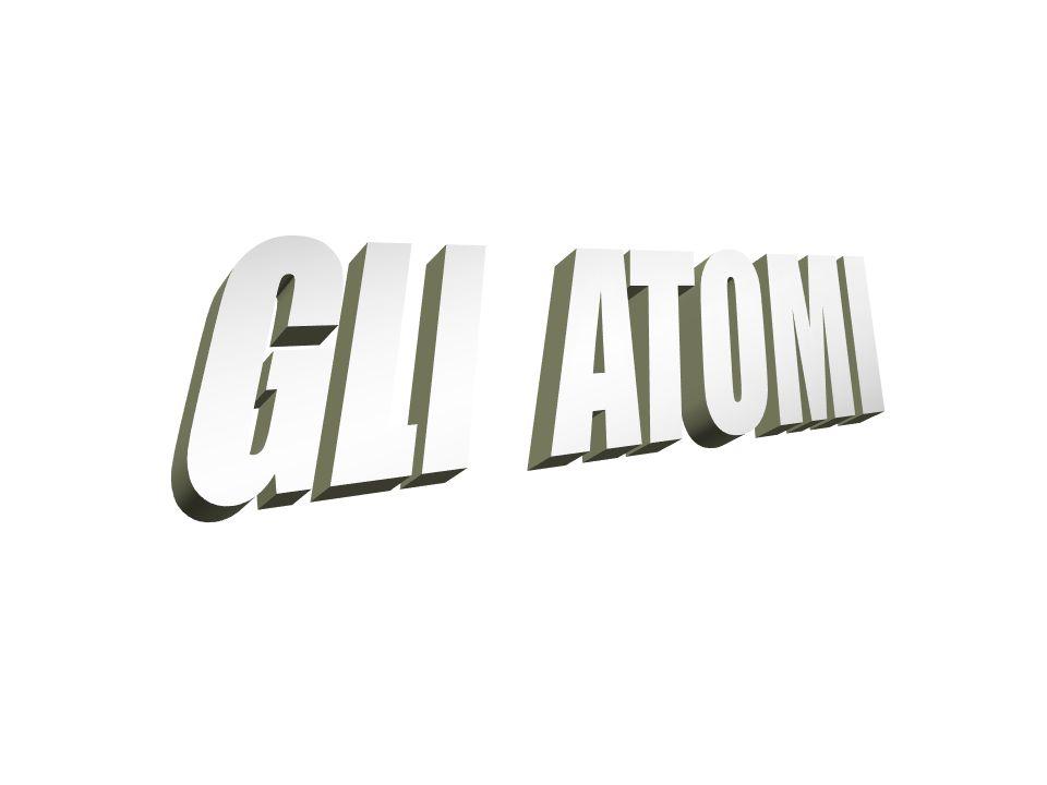 GLI ATOMI