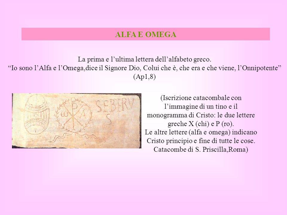 La prima e l'ultima lettera dell'alfabeto greco.