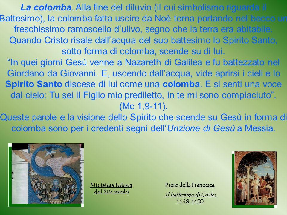 Il battesimo di Cristo, 1448-1450