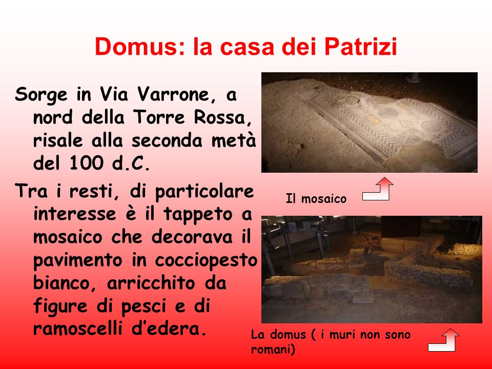 Domus: la casa dei Patrizi