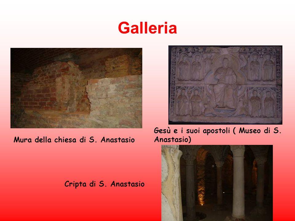 Galleria Gesù e i suoi apostoli ( Museo di S. Anastasio)