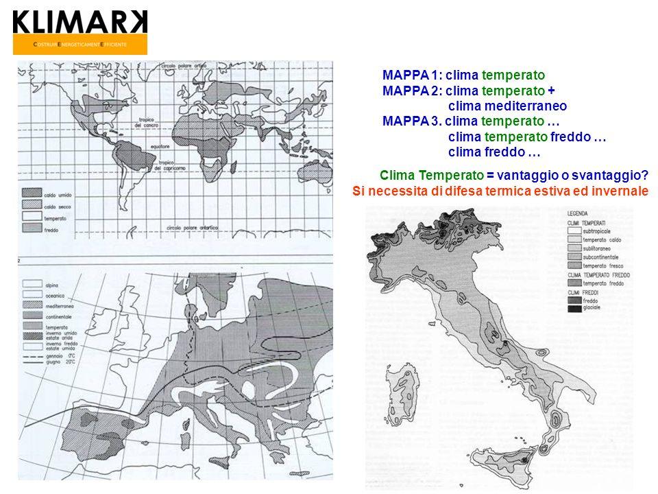 MAPPA 1: clima temperato