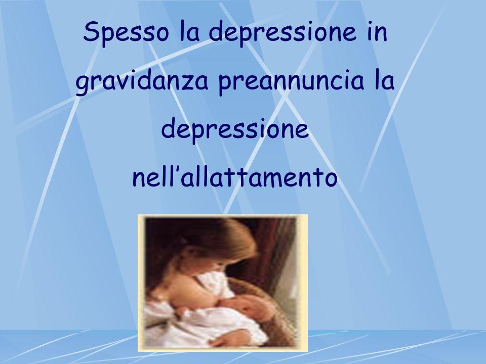 Spesso la depressione in gravidanza preannuncia la depressione