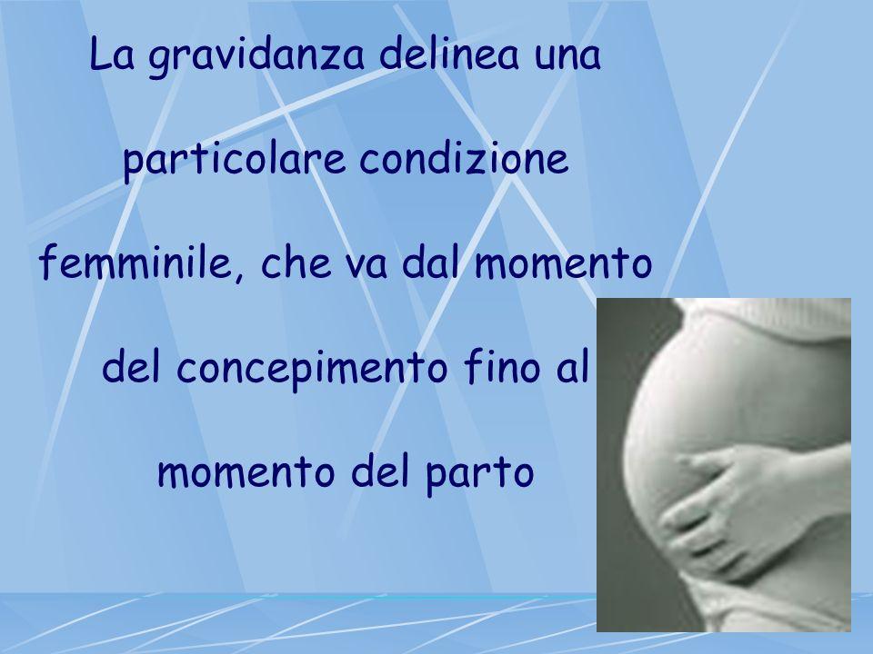 La gravidanza delinea una particolare condizione