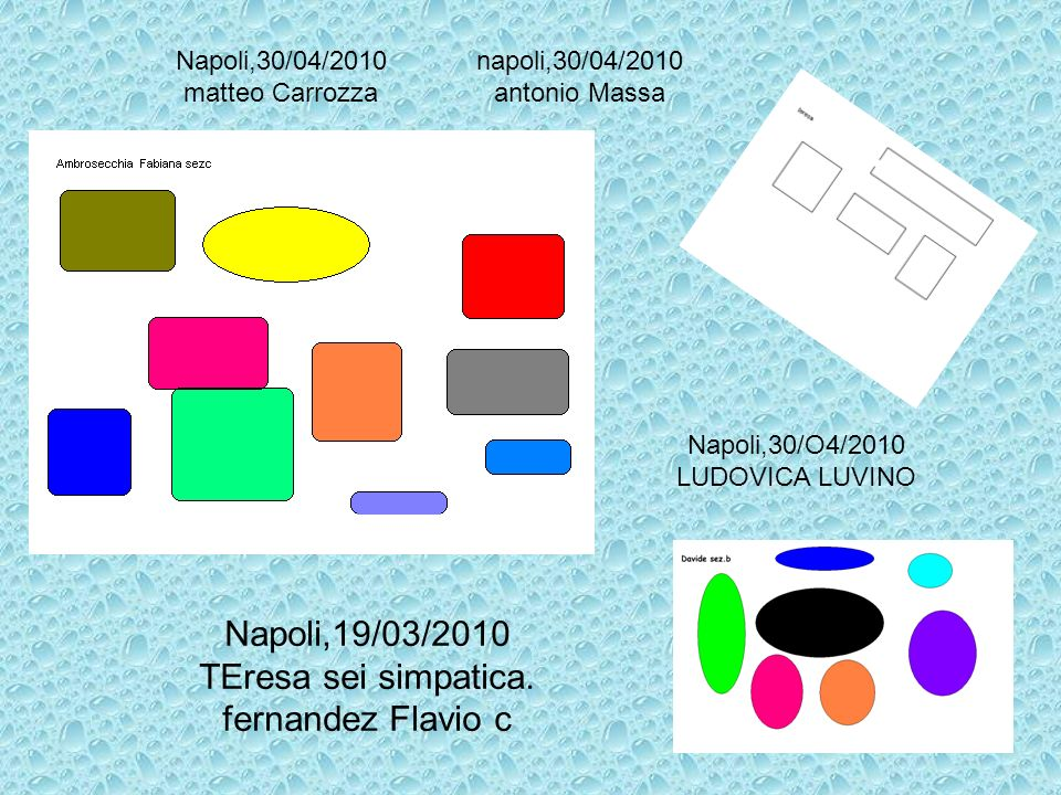 Napoli,19/03/2010 TEresa sei simpatica. fernandez Flavio c
