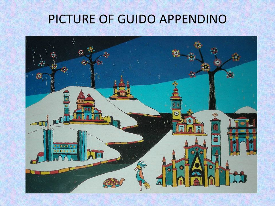 PICTURE OF GUIDO APPENDINO