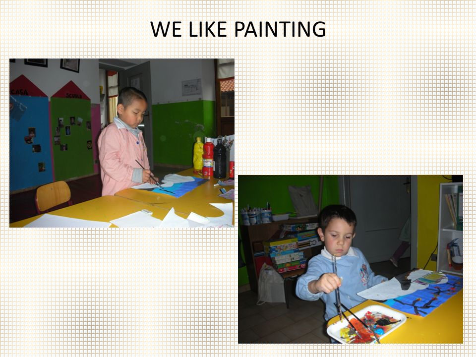WE LIKE PAINTING