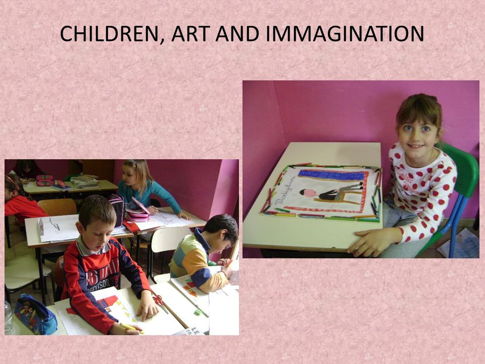 CHILDREN, ART AND IMMAGINATION