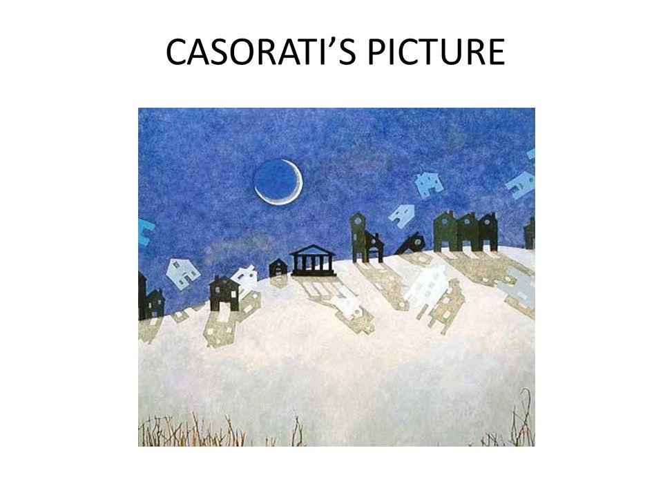 CASORATI'S PICTURE