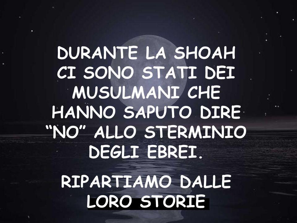 RIPARTIAMO DALLE LORO STORIE