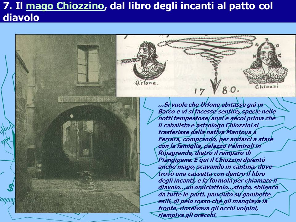7. Il mago Chiozzino, dal libro degli incanti al patto col diavolo