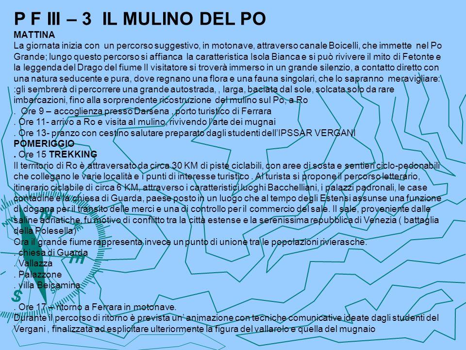P F III – 3 IL MULINO DEL PO MATTINA