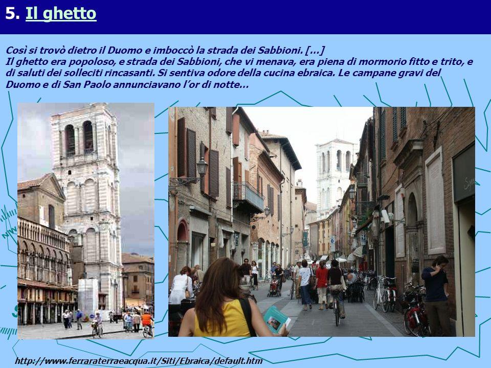 5. Il ghetto
