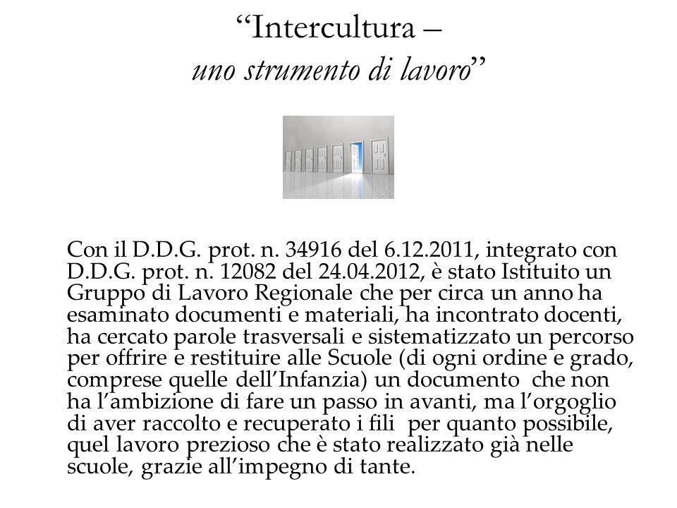 Intercultura – uno strumento di lavoro