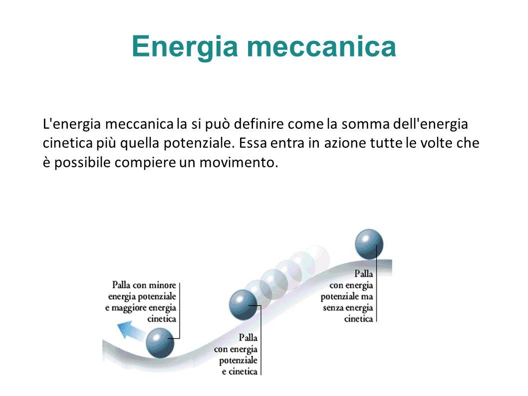 Energia meccanica