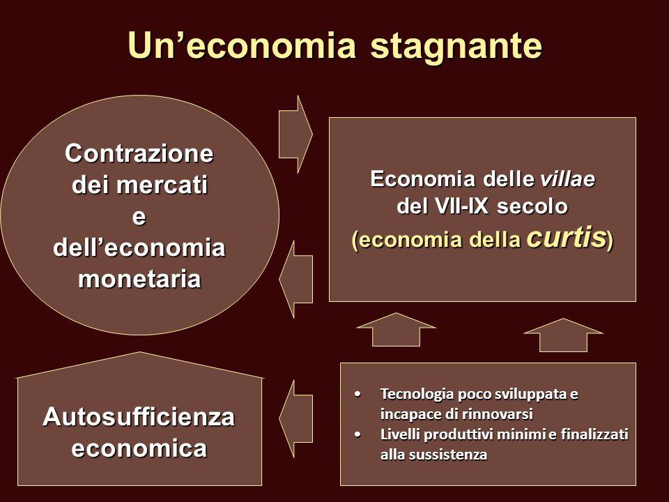 Un'economia stagnante