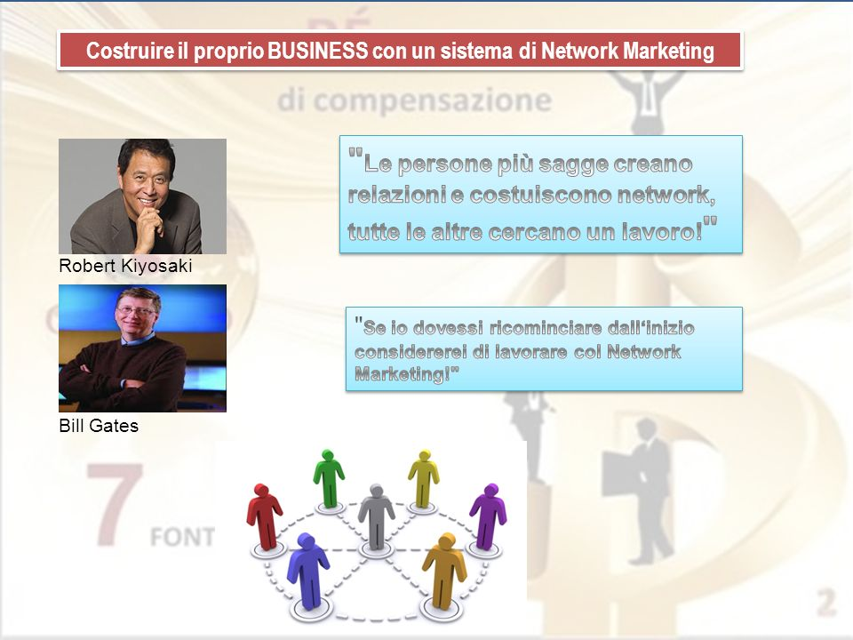 Costruire il proprio BUSINESS con un sistema di Network Marketing