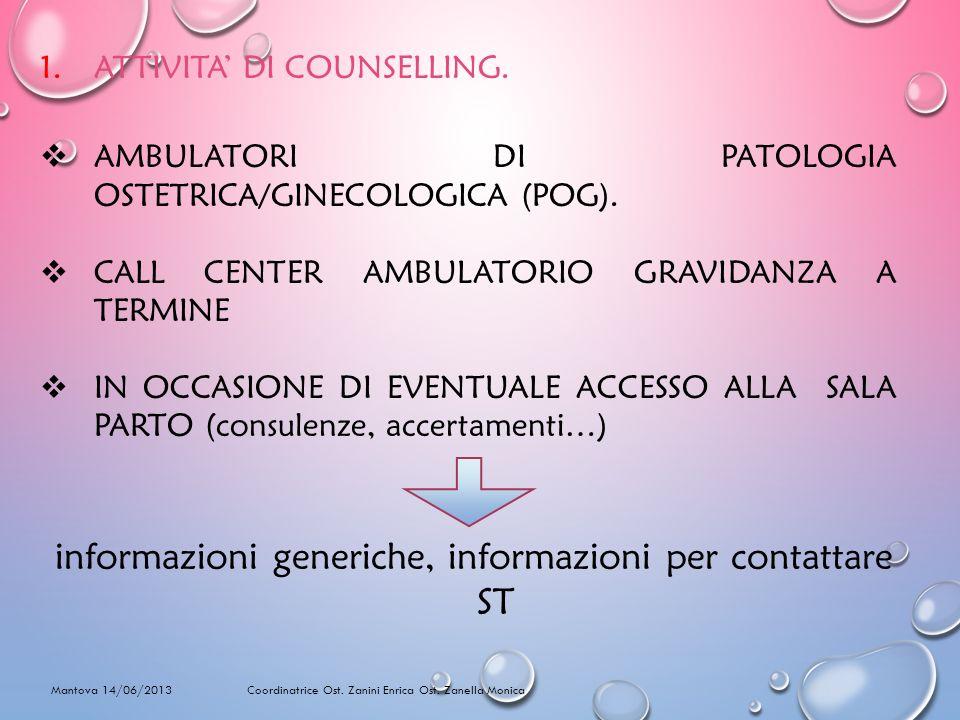 informazioni generiche, informazioni per contattare ST