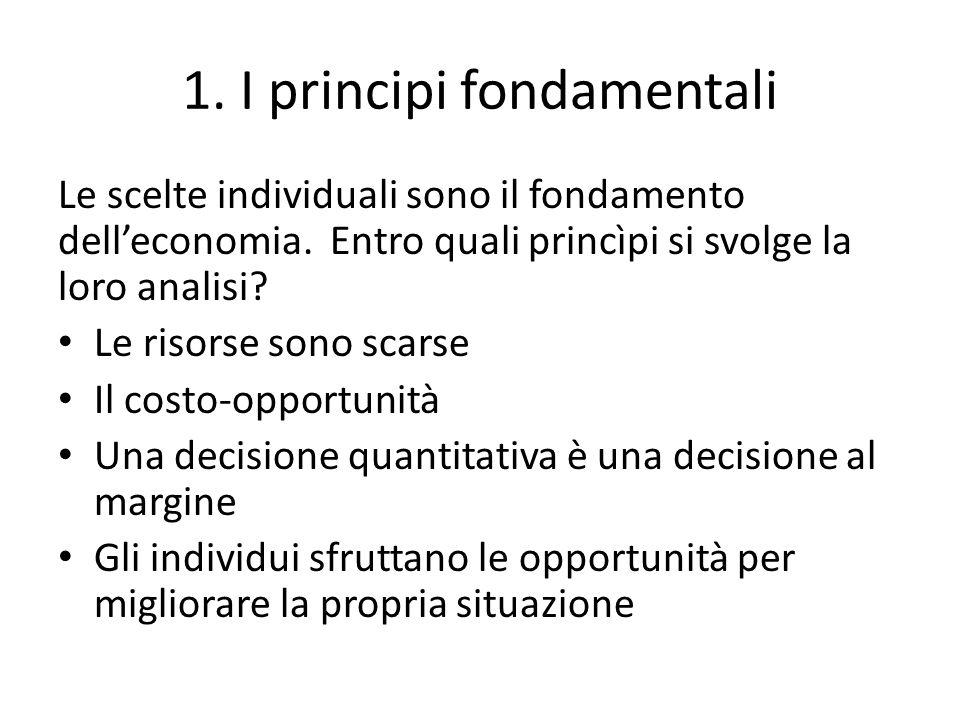 1. I principi fondamentali