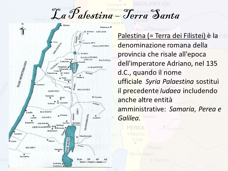 La Palestina – Terra Santa