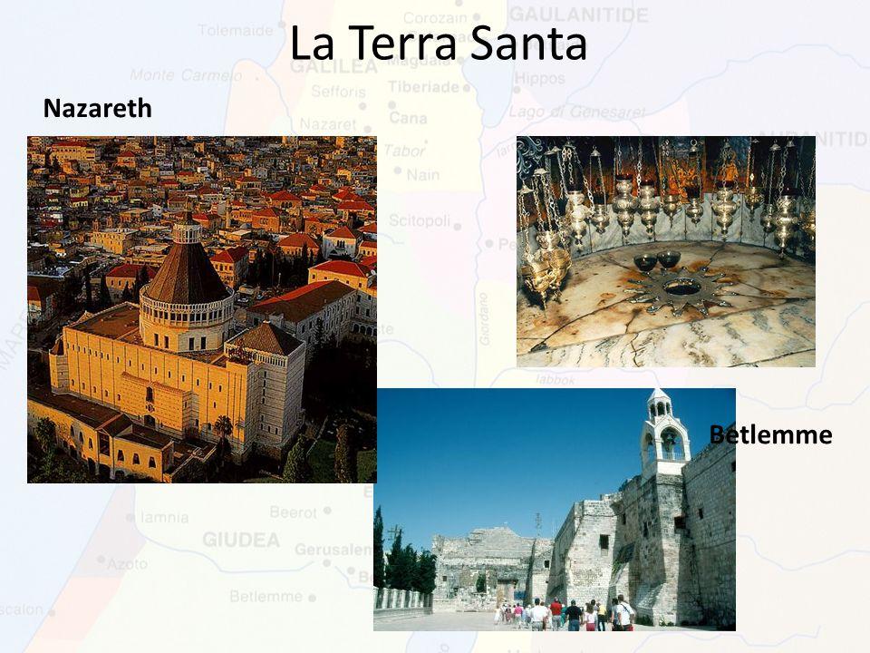 La Terra Santa Nazareth Betlemme
