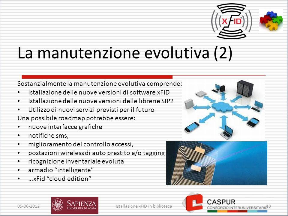 La manutenzione evolutiva (2)