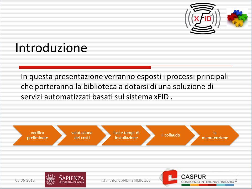 Introduzione In questa presentazione verranno esposti i processi principali.