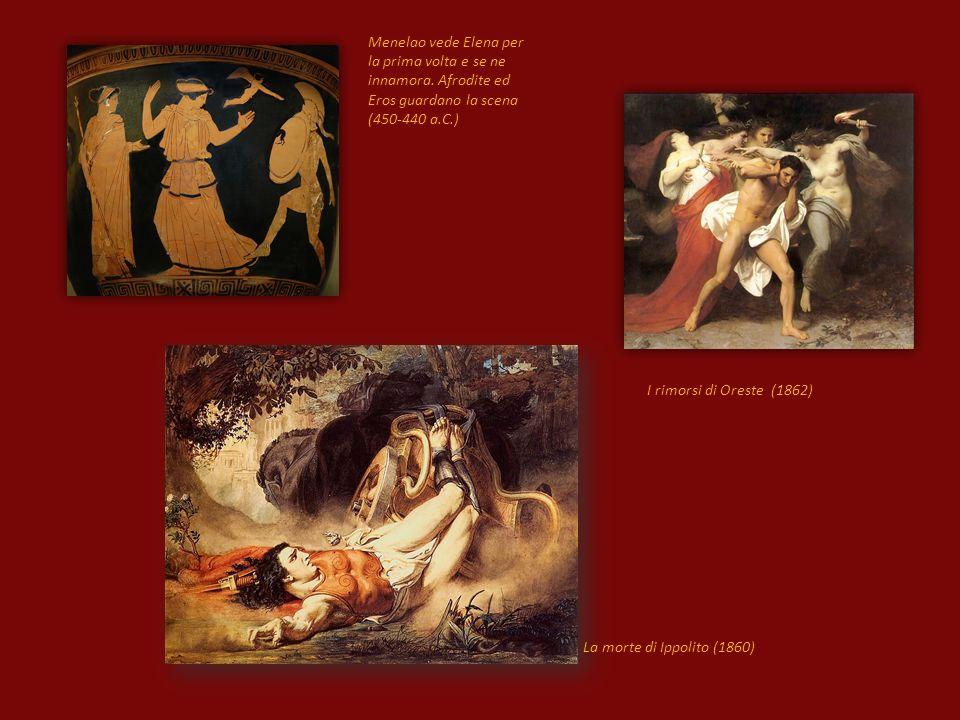 Menelao vede Elena per la prima volta e se ne innamora