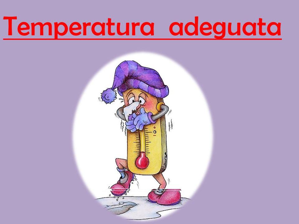 Temperatura adeguata