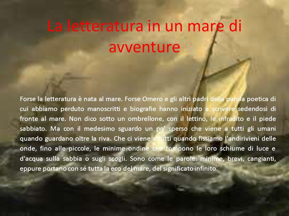 La letteratura in un mare di avventure