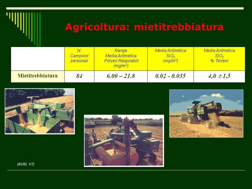 Agricoltura: mietitrebbiatura