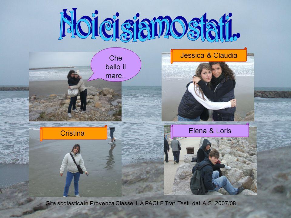 Noi ci siamo stati.. Jessica & Claudia Che bello il mare..