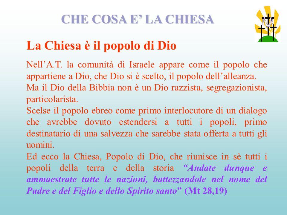 La Chiesa è il popolo di Dio
