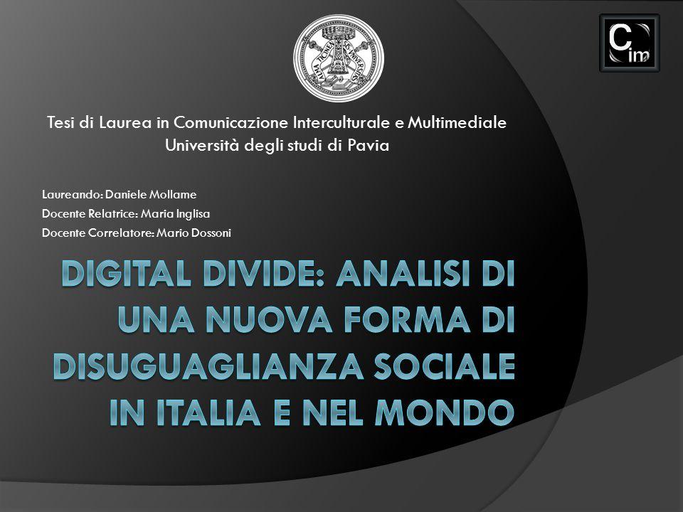 Tesi di Laurea in Comunicazione Interculturale e Multimediale Università degli studi di Pavia