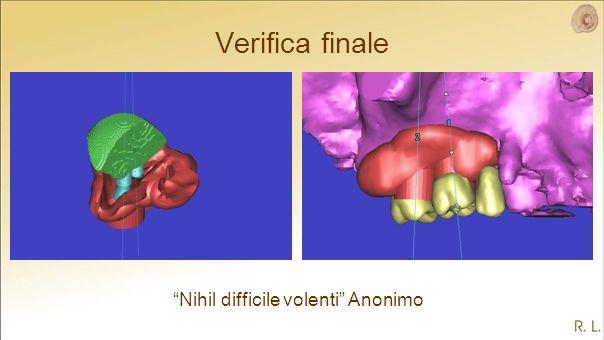 Verifica finale Nihil difficile volenti Anonimo