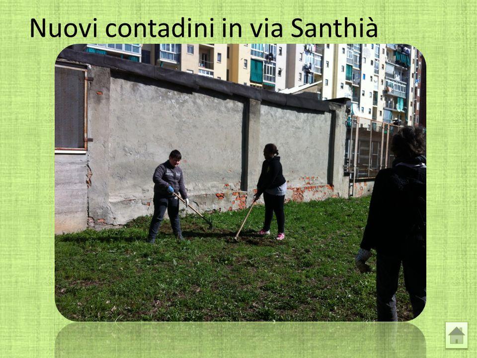 Nuovi contadini in via Santhià