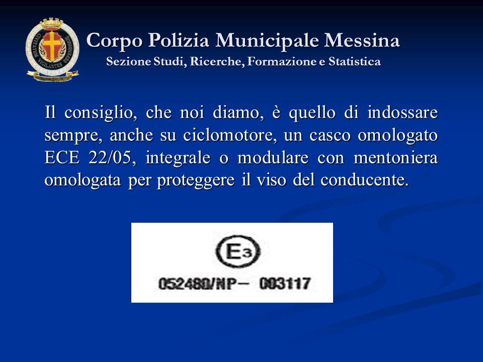 Corpo Polizia Municipale Messina Sezione Studi, Ricerche, Formazione e Statistica