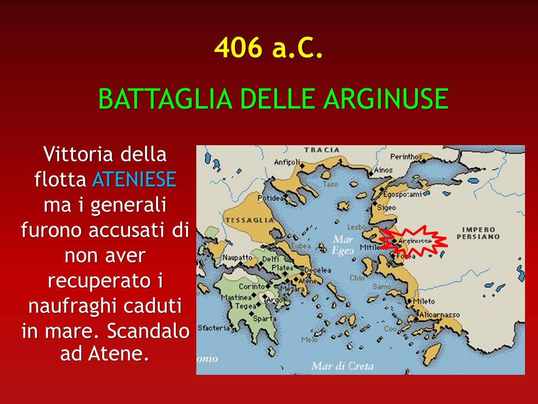 BATTAGLIA DELLE ARGINUSE