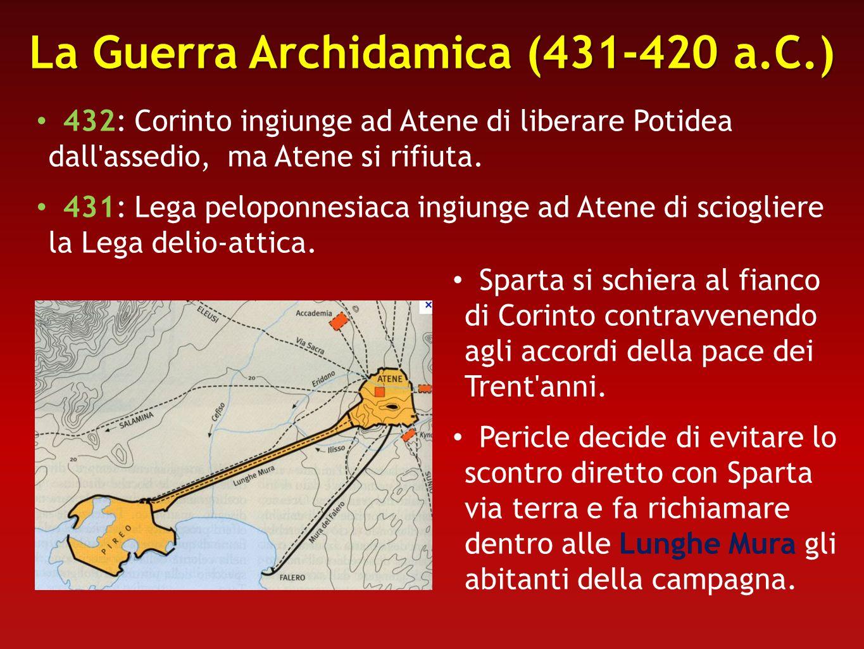 La Guerra Archidamica (431-420 a.C.)