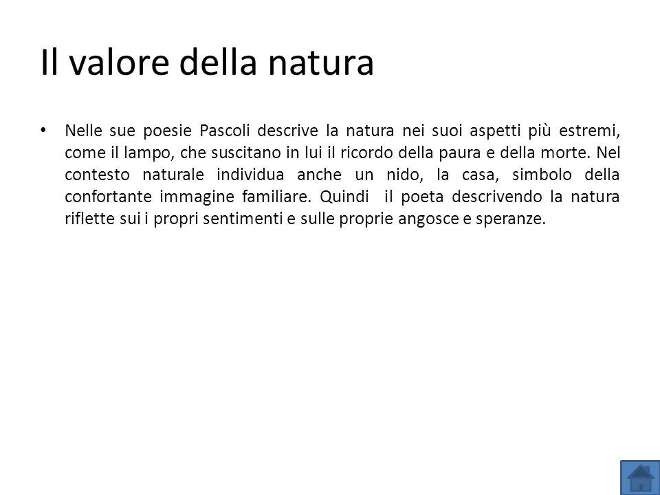 Il valore della natura